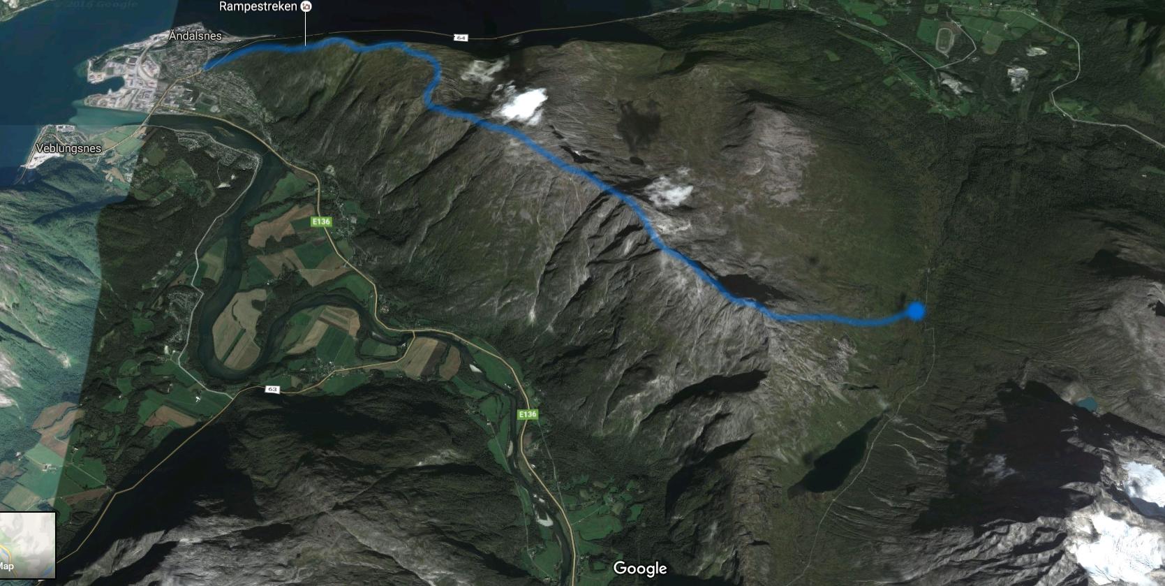romsdaleggen-map